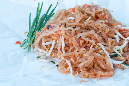 chinese food: Thai style noodles, Thailands national dishes