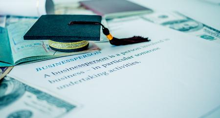 Afstuderen GLB op paspoort en brieven boek