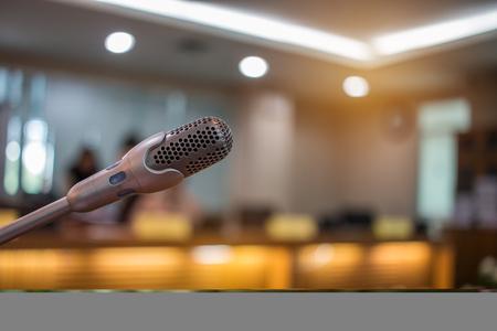 Wazig van luidspreker mini-microfoon