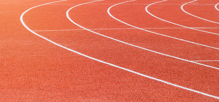 red running track sports texture Stockfoto