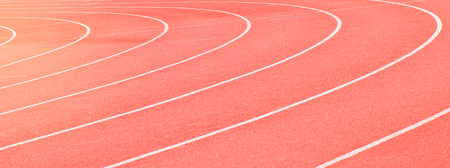 red running track sports texture Stockfoto - 91459740
