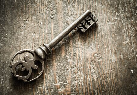 Aged church key Zdjęcie Seryjne