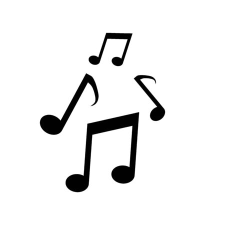 Vector music Icon note