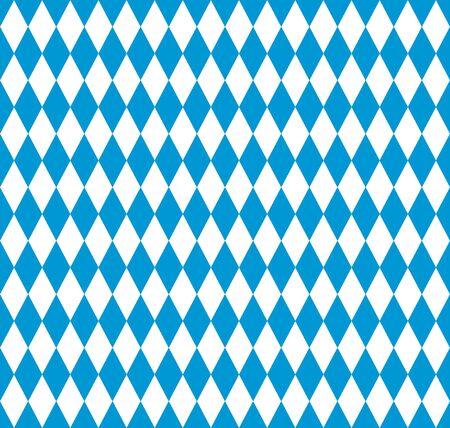 Nahtloses Muster der bayerischen Flagge