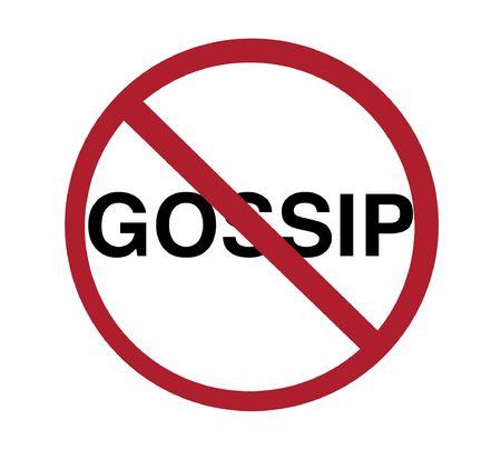 gossip: teken - geen roddel
