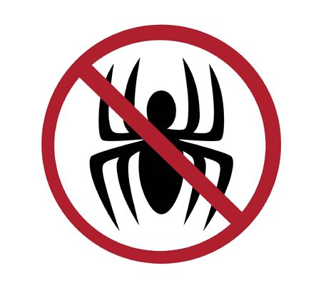 sign - no spiders