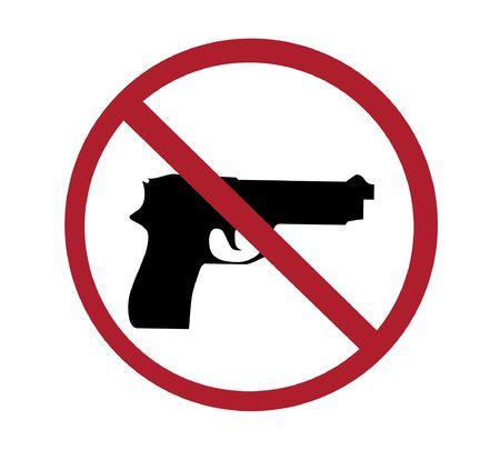 killings: sign - no guns