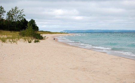 Dune beach, Leelanau State Park, Michigan Stock Photo - 7650037