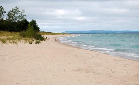 Dune beach, Leelanau State Park, Michigan Stock Photo - 7650037