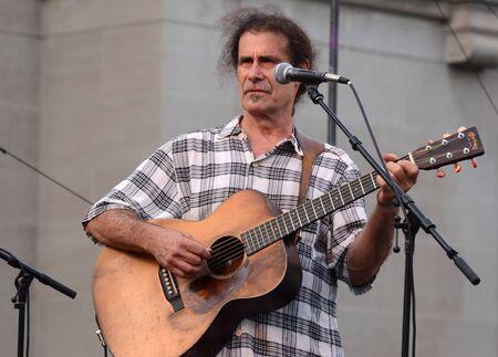 siegel: ANN ARBOR, MI – JULY 3: Guitarist Dick Siegel performs at the Ann Arbor Summer Festival July 3, 2012 in Ann Arbor, MI.  Siegel is a member of the Detroit Hall of Fame.