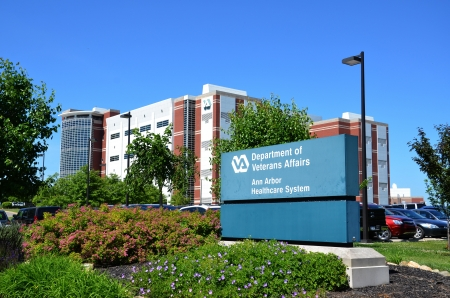 affairs: ANN ARBOR, MI - JUNE 17: The Department of Veterans Affairs has hired 1600 mental health staff at all its hospitals, including eight at the Ann Arbor Healthcare System, shown here on June 17 in Ann Arbor, MI Editorial