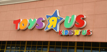 ANN ARBOR, MI - AUGUST 24: Toys R Us, whose Ann Arbor storefront is shown on August 24, 2014, has raised over $2.2 million to benefit Alexs Lemonade Stand Foundation.