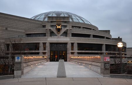 DETROIT, MI - DECEMBER 20:  The Detroit African American Museum, shown on December 20, 2014, will host movies as part of the Cinetopia International Film Festival. Editorial