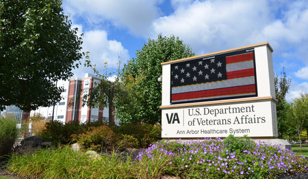 resumed: ANN ARBOR, MI - SEPTEMBER 13: The Department of Veterans Affairs' Ann Arbor Healthcare System, shown here on September 13, 2015 in Ann Arbor, MI, recently resumed surgeries after some equipment concerns.
