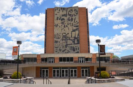 ボウリング グリーン、オハイオ州 - 6 月 25 日: ボウリング グリーン、オハイオ州、ボーリング グリーン州立大学でジェローム ・大学図書館は 2017  報道画像