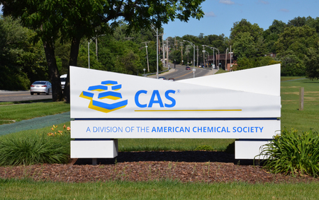 COLUMBUS, OH - JUNE 27: The entrance of the Chemical Abstract Service is shown on June 25, 2017. They maintain many databases of scientific and technology information. 新聞圖片