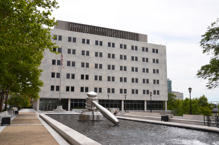 COLUMBUS, OH - JUNE 28: The Thomas J. Moyer Ohio Judicial Center, in Columbus, Ohio, is shown on June 28, 2017. It houses the Supreme Court of Ohio.