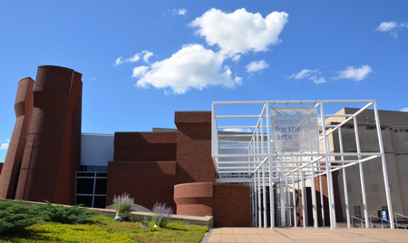 COLUMBUS, OH - JUNE 25: The Wexner Center for the Arts in Columbus, Ohio is shown on June 25, 2017. It was renovated in October 2005. Sajtókép