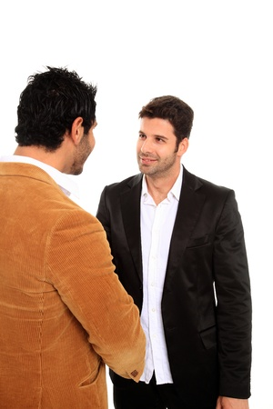 two business man make a deal Stock Photo - 11546177