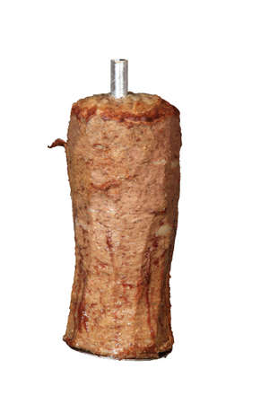 donner: mix of kebab and donner isolated on a white background