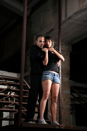 kidnapping: criminal kidnapping a girl with a knife