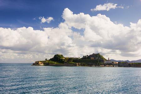 corfu: landscape of Corfu island