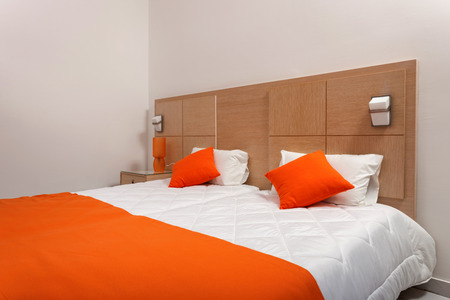 luxury hotel room: modern room interior of a luxury hotel
