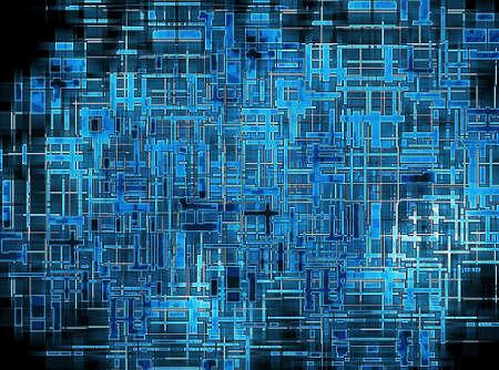 Abstract circuits photo