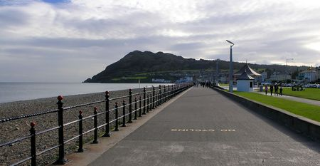 Bray, a seaside town in northern County Wicklow, Ireland, south of Dublin on the eastern coast. Stock Photo - 2201949