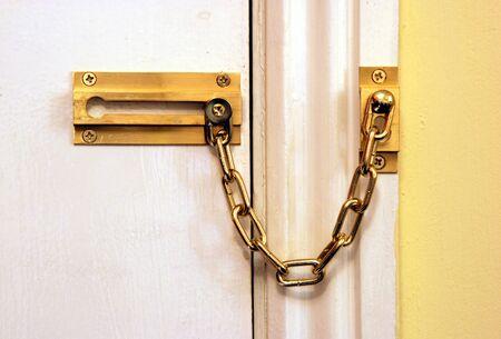 Chained door photo