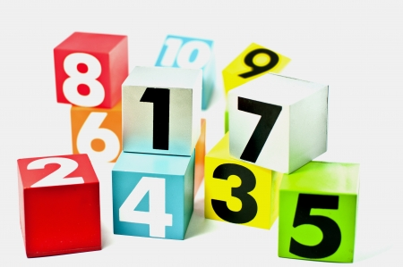 Number and color photo