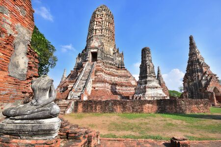 place of worship: Place of worship, Wat Chaiwatthanaram is a Buddhist temples in Phra Nakhon Si Ayutthaya Province, Thailand