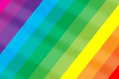 LGBT lesbian gay bisexual transgender rainbow pride diagonal flag. Colorful happiness concept and cheerful together idea