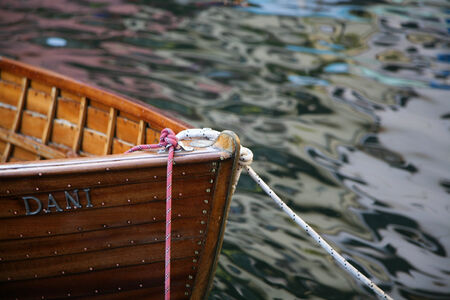 The stillness of the harbor in Lake Garda (Italy) Editorial