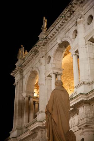 Statue of Palladio and Palladio