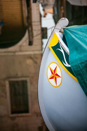 Peace in Chioggia harbor in October Stock Photo