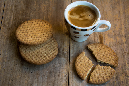 Coffee and Cookie for a good breakfast!
