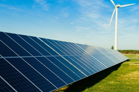 modules: background of photovoltaic modules for renewable energy