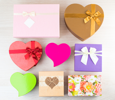 plenty assorted colorful and different in the shape and size gif Stock Photo