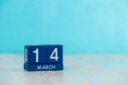 March 14 day of the rivers on calendar Banco de Imagens
