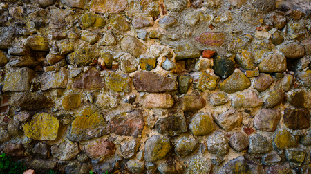 Background of stone wall texture Banco de Imagens - 105053088