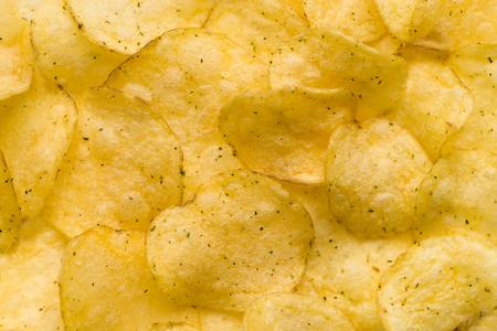 food background potato chips