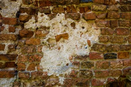 Background of old vintage brick wall Foto de archivo - 105397170