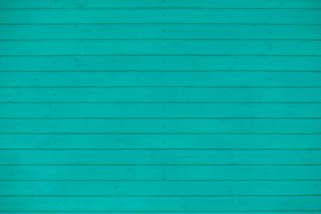 close-up azure horizontal wood wall background, texture