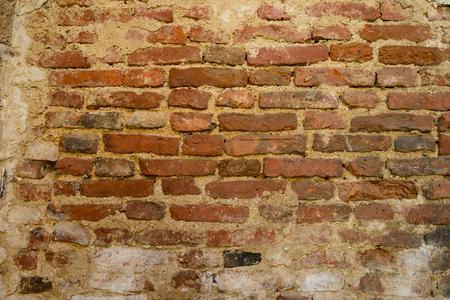 Background of old vintage brick wall, texture Foto de archivo - 105318526