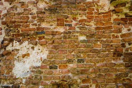 Background of old vintage brick wall, texture Foto de archivo - 105318241