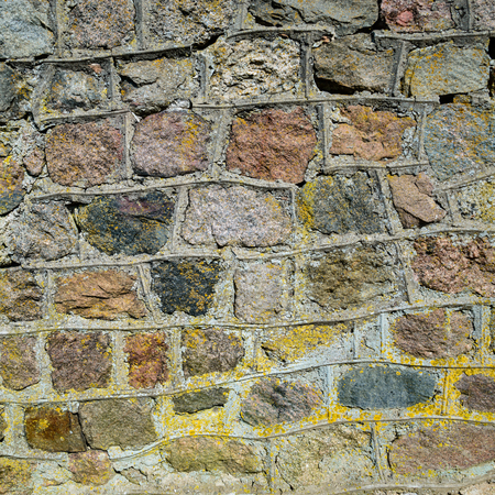 Background of stone wall texture copy space Banco de Imagens - 105318213