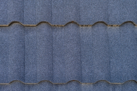 composite tile close up, roofing texture, Close-up top above view with copy space for text