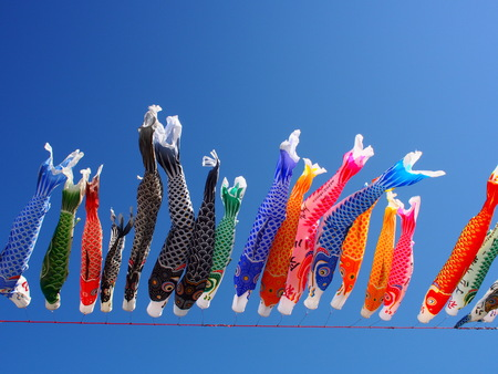 Japans traditional culture, the fish family