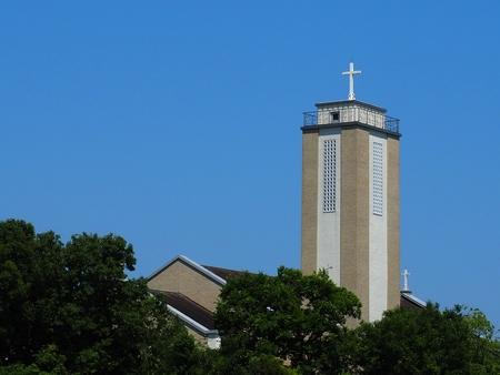 Catholic church Ota-ku Tokyo, Japan